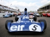 Jackie Stewart parade led by Tyrrell 006