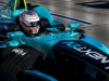 2015/2016 FIA Formula E Championship. Long Beach ePrix, Long Beach, California, United States of America. Saturday 2 April 2016. Nelson Piquet (BRA), NEXTEV TCR FormulaE 001 crashes out of the race. Photo: Zak Mauger/LAT/Formula E ref: Digital Image _79P6580
