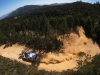 Sebastien Ogier (FRA) performs during FIA World Rally Championship 2016 Portugal in Porto, Portugal on May 20, 2016