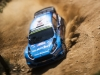 Mads Ostberg (NOR) performs during FIA World Rally Championship 2016 Portugal in Porto, Portugal on May 20, 2016