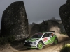 Pontus Tidemand (SWE) performs during FIA World Rally Championship 2016 Portugal in Porto, Portugal on May 21, 2016