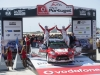 Kris Meeke (GBR),  Paul Nagle (IRL) celebrate the podium during FIA World Rally Championship 2016 Portugal in Porto, Portugal on May 22, 2016