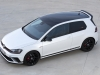 Golf GTI Clubsport Edition 40 16 with optional black wheels and painted roof