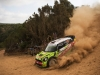 Valeriy Gorban (UKR) performs during  FIA World Rally Championship 2016 Italy in Alghero , Italy on June 9, 2016
