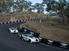 Both Continental GT3s led the race