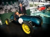 Pic by Samantha Cook Photography 05March15.  Opening of two motor sport displays; Grand Prix Greats and Road, Race and Rally, collectively known as A Chequered History. VIP guests Murray Walker and Sir Stirling Moss officially open the new exhibitions.