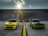 New 2017 Dodge Challenger T/A and Charger Daytona – two performance-upgraded models infused with heritage style.Dodge believes the golden age of performance cars is now, making this year's Woodward Dream Cruise the perfect time and place to reintroduce the brand's two famed, race-bred nameplates — the new 2017 Challenger T/A and Charger Daytona — muscle cars that deliver even more performance and precision to the naturally aspirated HEMI® V-8 lineup with unique powertrain induction and exhaust enhancements, chassis upgrades for greater handling and braking, plus functional performance styling appointments inside and out.
