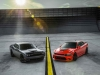 2017 Dodge Challenger T/A 392  (left) and 2017 Dodge Charger Daytona 392 (right)