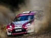 Nasser Al-Attiyah performs during the FIA World Rally Championship 2015 in Coffs Harbour, Australia on September 12, 2015