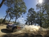Andreas Mikkelsen performs during the FIA World Rally Championship 2015 in Coffs Harbour, Australia on September 11, 2015