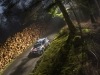 Sebastien Ogier (FRA) performs during FIA World Rally Championship in Deeside, Great Britain on 29  October 2016