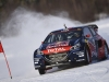 Sebastien Loeb performs during Rallycross on Ice 2016 Sweden in Are, Sweden on 16 February 2016