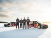 Kevin Hansen, Sebastien Loeb, Timmy Hansen & Davy Jeanney, drivers of Team Peugeot Hansen 2016 in Åre, Sweden on March 16, 2016.