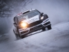 Ott Tanak (EST) performs during during the FIA World Rally Championship 2016 in Karlstad, Sweden on February 12, 2016