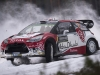 Kris Meeke (GBR) performs during during the FIA World Rally Championship 2016 in Karlstad, Sweden on February 12, 2016