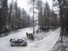 Andreas Mikkelsen (NOR) performs during during the FIA World Rally Championship 2016 in Karlstad, Sweden on February 13, 2016