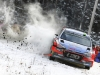 Hayden Paddon performs during the FIA World Rally Championship 2016 in Karlstad, Sweden on February 13, 2016