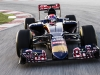 Max Verstappen of Netherlands and Scuderia Toro Rosso drives STR10 in MIsano, Italy on January 28th, 2015