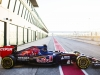 New STR10 of Scuderia Toro Rosso is seen in MIsano, Italy on 28th of January, 2015