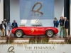 Winner of the 2016 Rolex Circle of Champions Best of Show, the 1953 Ferrari 375 MM Pinin Farina Spyder at the 14th Annual The Quail, A Motorsports Gathering..