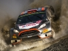 Robert Kubica races during  FIA World Rally Championship in Deeside, Great Britain on 13  November 2015
