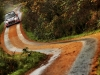 Hayden Paddon races during FIA World Rally Championship in Deeside, Great Britain on 14 November 2015