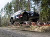 Andreas Mikkelsen (NOR)  performs during FIA World Rally Championship 2016 Finland in Jyvaskyla on July 29, 2016