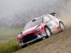 Kris Meeke (GBR)  performs during FIA World Rally Championship 2016 Finland in Jyvaskyla on July 30, 2016