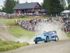 Mads Ostberg performs during FIA World Rally Championship 2016 Finland in Jyvaskyla on July 30, 2016
