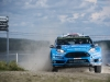 Mads Ostberg (NOR) performs during FIA World Rally Championship 2016 Finland in Jyvaskyla on July 31, 2016