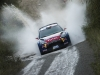 Khalid Al Qassimi performs during the FIA World Rally Championship 2015 in Salou, Spain on October 23, 2015