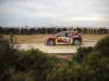 Nasser Al-Attiyah performs during the FIA World Rally Championship 2015 in Salou, Spain on October 23, 2015