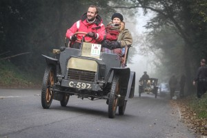 1904 Humberette driven by James Morant